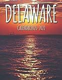 Delaware Calendar 2021-2022: Calendar & Planner - 2 Years Calendar (2021-2022)