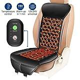 ELUTO Heated Car Seat 12V/24V Car Heated Seat Covers Cushion Pad Car Seat