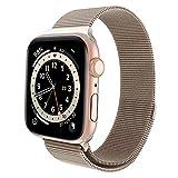 FRESHCLOUD コンパチブル apple watch バンド 38mm 40mm アップルウォッチバンド 42mm 44mm ミラネーゼループ ステンレス留め金製 iwatch series6/5/4/3/2/1/SEに対応 磁石 軽量モデル