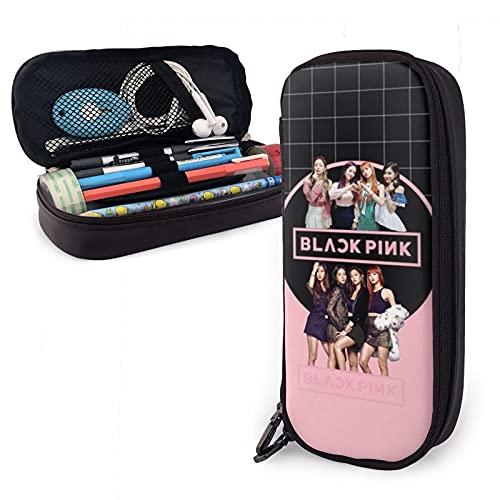 Blackpink - Estuche para lápices para niños y niñas, soporte para bolígrafos,...
