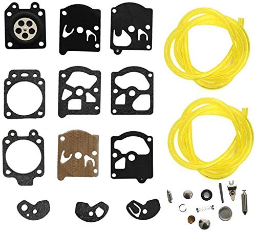 Kit de carburador Kit De Reconstrucción De Reparación De Carburador De Carburador Para WA WT Series K10-Wat Diafragma Junta De Diafragma STIHL HUSQVARNA MCCULLOCH ECHO ECHO CHUGER EDGER Trimmer Kit de
