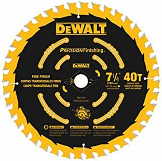 DEWALT DW3194 7-1/4-Inch 40T Precision Framing Saw Blade