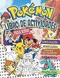 Pokémon Libro De Actividades: Libro De Actividades Pokémon 2021 Para Niños De 4 A 8 Años Con Ilustraciones Gigantes