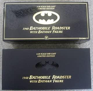 1940 Batmobile Roadster with Batman Figure Limited 1:18