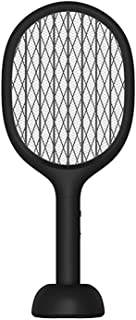 فلاي سواتر حشرة قاتل حشرة ذبابة بعوض كهربائي قابل لإعادة الشحن المنزلية متعددة الوظائف ضوء ليد بقوة ضرب الطيران بعثرة لجذب...