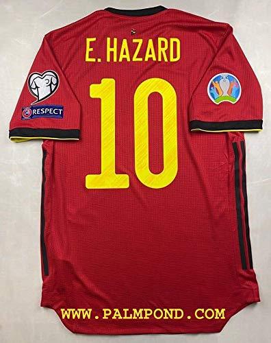 ZA Eden Hazard Belgium Home Trikot 2020 Size XL Full Patch
