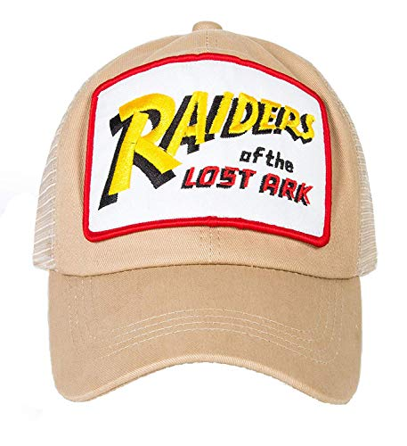 Dealtrade Indiana Jones Gorra cosplay para adulto, unisex, color beige, sombrero de béisbol para Halloween