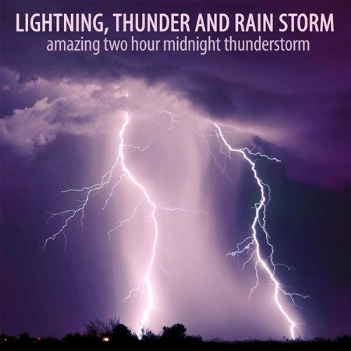 Midnight Thunderstorm Part 1 by Thunder and Rain Storm Lightning on