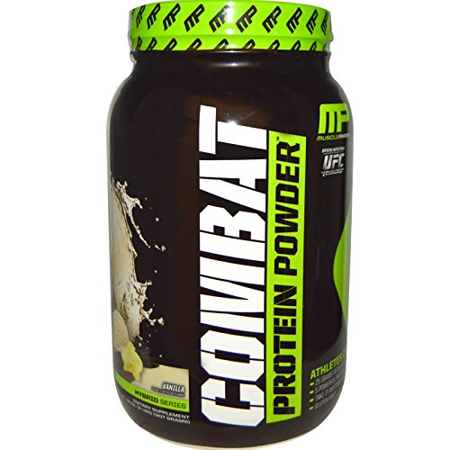 MusclePharm Combat Protein Powder (2lbs) Vanilla, 907 g