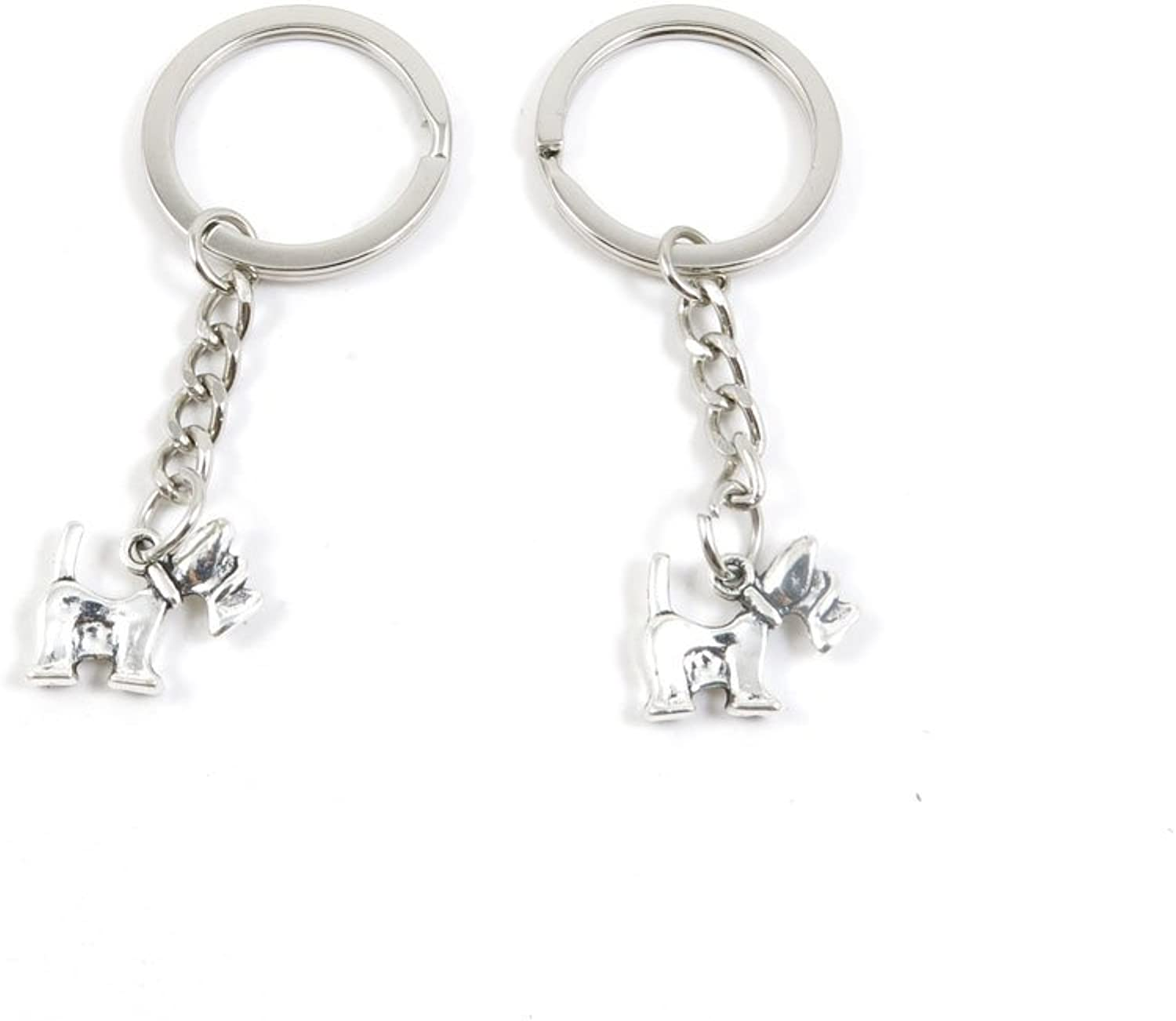 210 Pieces Fashion Jewelry Keyring Keychain Door Car Key Tag Ring Chain Supplier Supply Wholesale Bulk Lots E2LJ9 Dog Puppy