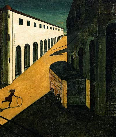 Lilarama USA Giorgio-De-Chirico-Mystery-and-Melancholy-of-A-Street - Canvas Art Print - Wall Art - Canvas Wrap