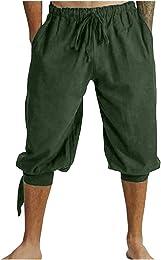 Costume De Pantalon Médiéval pour Homme Viking Pan