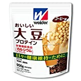 ウイダー おいしい大豆プロテイン コーヒー味 900g (約45回分) 日々の健康維持に役立つ大豆タンパク質