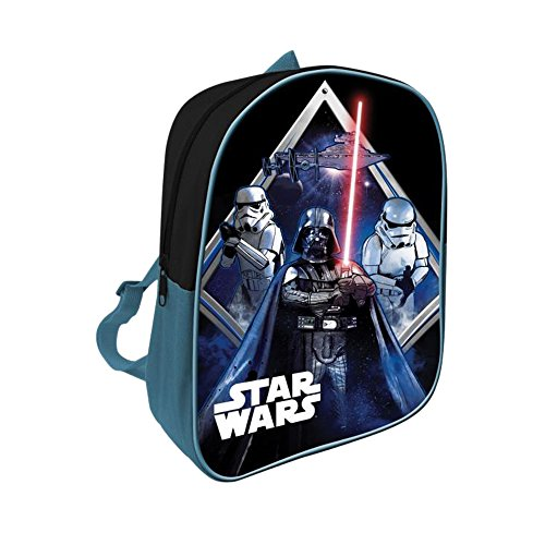 Star Wars AS005 - Licencia Mochila Infantil, 28 cm, Multicolor