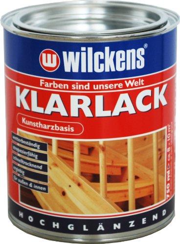 Wilckens Klarlack hochglänzend 750ml SKE 0000