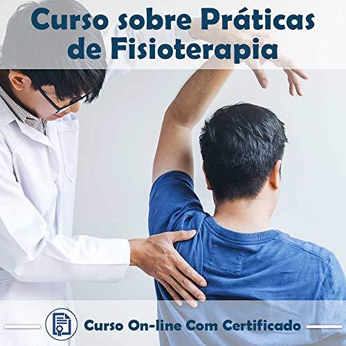 Curso online em videoaula sobre Práticas de Fisioterapia com Certificado + 2 brindes