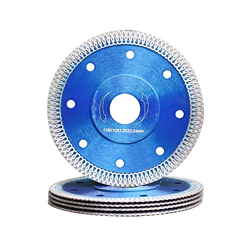 5Pcs/Box Porcelain Blade Super Thin Diamond Saw Blade 4.5