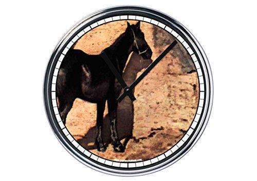 Reloj de Partete de acero Giovanni Fattori caballo