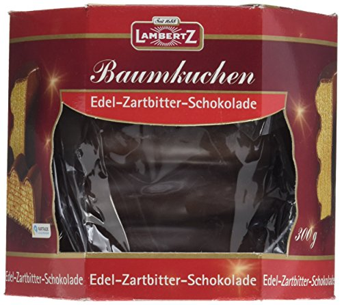 Lambertz Baumkuchen Zartbitter, 12er Pack (12 x 300 g)