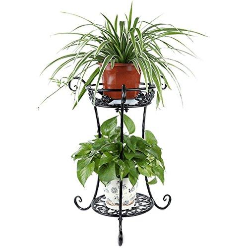Étagères d'angle Supports de pots Support de fleur support de fleur créatif multicouche présentoir de fer de chrysanthème rose vert support de pot de plancher intérieur de balcon salon