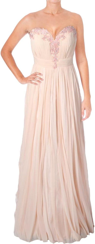 Jovani Rhinestone Strapless Formal Dress