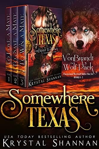 VonBrandt Wolf Pack Volume One: Small Town Texas Sexy Werewolf Romances by [Krystal Shannan]