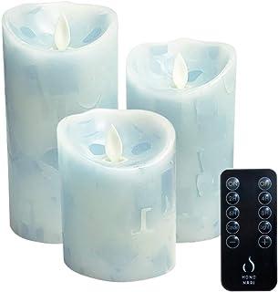 HONONARI LED キャンドル ライト Marin 専用リモコン付 3点セット