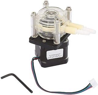 6~30V Vacuum Peristaltic Pump, High Flow Corrosion Resistant Vacuum with Stepper Motor for Aquarium, Chemicals, Liquids