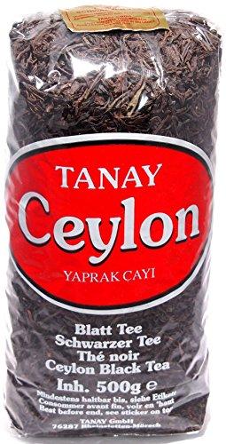 Tanay Schwarztee Ceylon Tee 500g