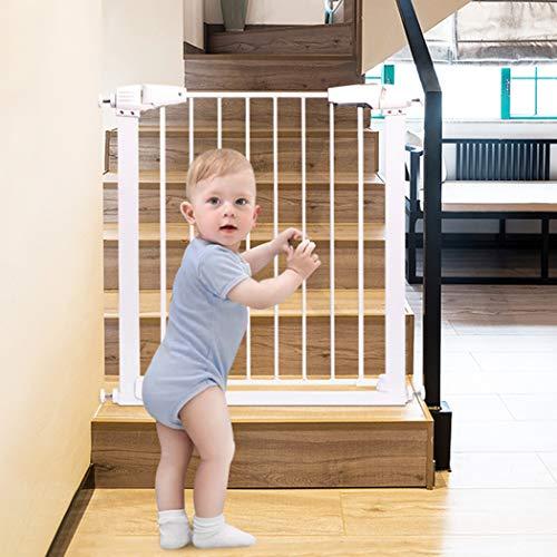 Erweiterbares Baby-Sicherheitstor Für Treppen Für Treppen Druckanpassung 65-176 Cm Haustierzaun Isolierung Türstangenschutz Einziehbar Für Haustierkatzen Hunde(Color: Hight 76,Size:162~163cm)