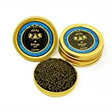 Caviar béluga oeufs d'esturgeon (meilleures ventes) (50g)