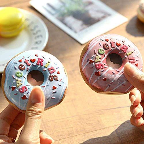 WANG Kerst Decoraties Super Leuke Zoete IJzeren Doos Mooie Meng Donut Bruiloft Gelukkig Zoete Doos Geschenkdoos
