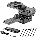 Neewer Guida Slider Macro Focus a 4 Vie per Foto Close-up con 6-in-1 Timer Rilascio di Otturatore...
