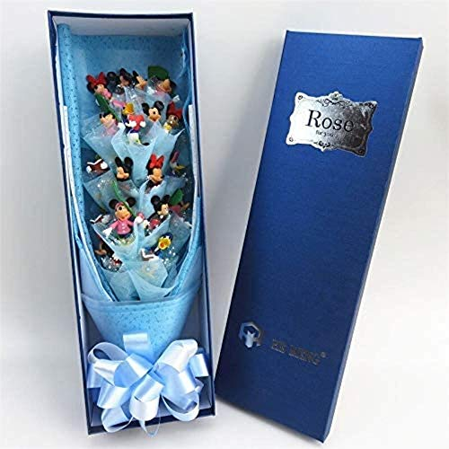 Mouse Cartoon Action Figure speelgoed pop Fashion Kawaii Bouquet Gift Box Creative Graduation/Verjaardag Geschenken/Valentijn met Box
