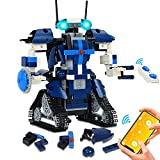 STEM Building Robots for Kids Toy - Remote&APP Controlled Robot Science Erector Kits Blocks Birthday Gift Learning Education Activities Toys for Kids Ages 6+ Boys Girls