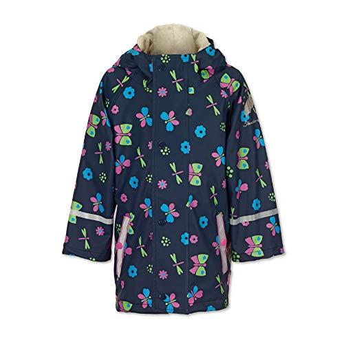 Sterntaler meisjesregenjas, ongevoerd, marineblauw
