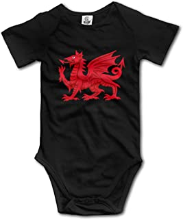 welsh dragon cotton fabric