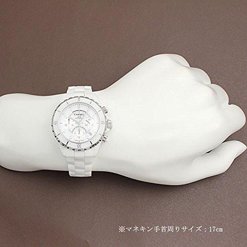 シャネルJ12クロノグラフ白セラミック9PダイヤH2009[新品]メンズ[並行輸入品]