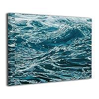 Skydoor J パネル ポスターフレーム 波 ブルー インテリア アートフレーム 額 モダン 壁掛けポスタ アート 壁アート 壁掛け絵画 装飾画 かべ飾り 30×40