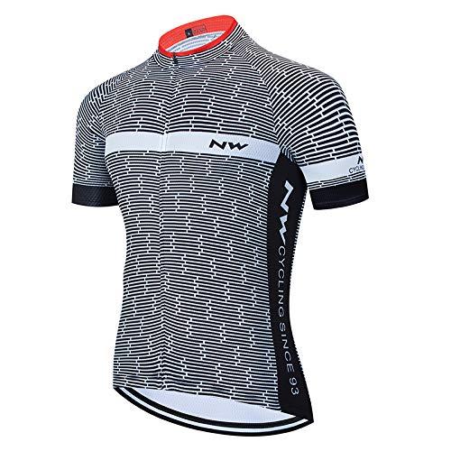 Da Uomo senza Maniche Maglione Ciclismo Team Cycle Maglia Traspirante Bicicletta