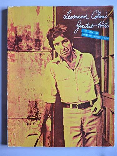 Leonard Cohen´s Greatest Hits::The Greatest Songs of Leonard Cohe