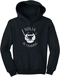 TeeStars - Ninja in Training - Cool Children Clothing - Funny Youth Hoodie