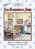 Aus Großmutters Küche 2021: Wandkalender mit Rezepten und nostalgischen Bildern. Küchenkalender DIN A3 mit Foliendeckblatt.