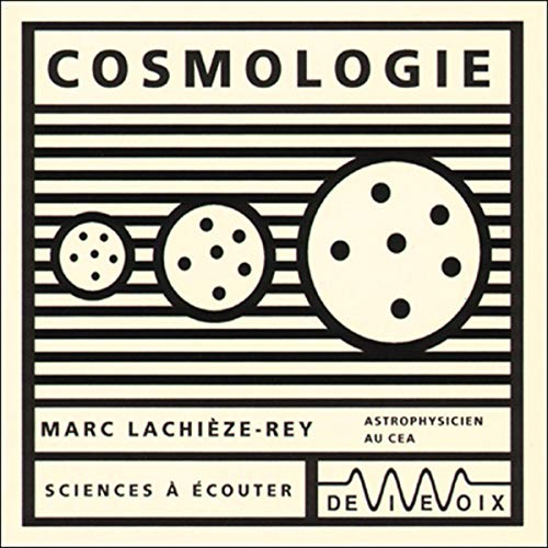 Couverture de Cosmologie