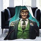 Loki - Manta de franela ultra suave para todas las estaciones, cálida y cómoda, manta de sofá de lujo (Loki5, 150 x 200 cm)