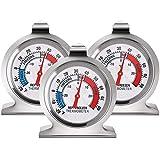 WOVELOT TermóMetros de Congelador de Refrigerador TermóMetro Serie de Esfera Grande TermóMetro de Temperatura para Refrigerador Congelador