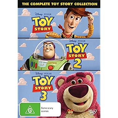 The Complete Toy Story Collection [ NON-USA Format / Pal Import - Australia ] (Toy Story / Toy Story 2 / Toy Story 3)