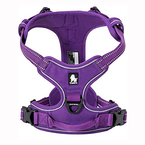 TRUE LOVE Adjustable No-Pull Dog Harness...