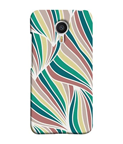 Printvisa Designer Back Cover for Meizu M3 Note, Meizu Note 3 (Abstract Art Backdrop Curly Bright Colorful Beautiful Concept)