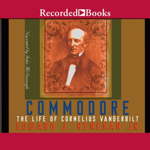 Commodore audiobook cover art